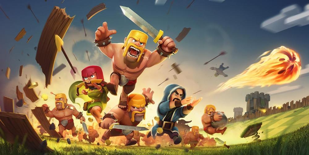 Clash Of Clans Test