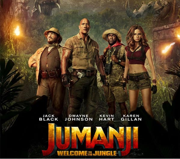 Which Jumanji 2 character are you?