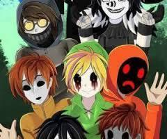 What creepypasta character are you? Boys