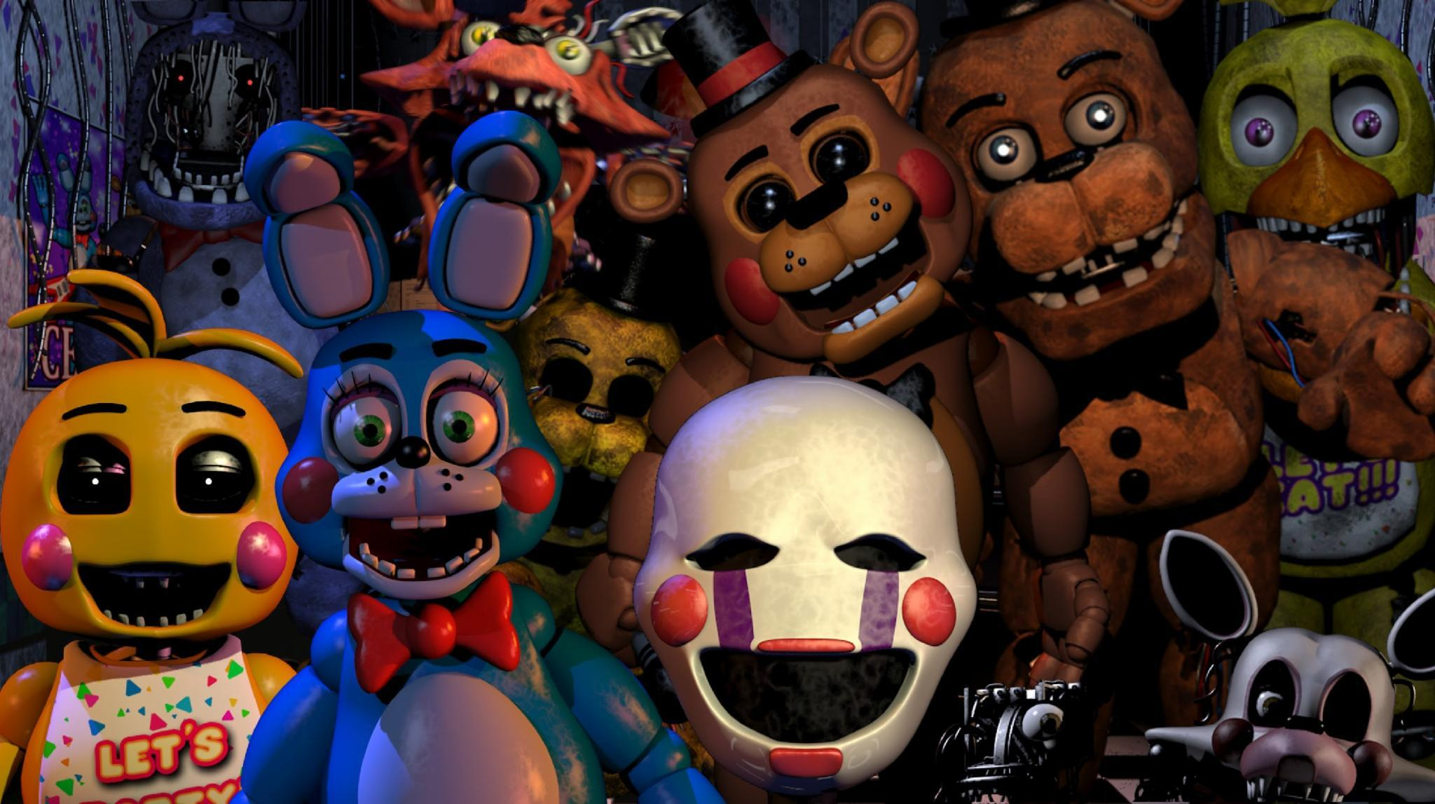 Which Five Nights at Freddy's animatronic are you?