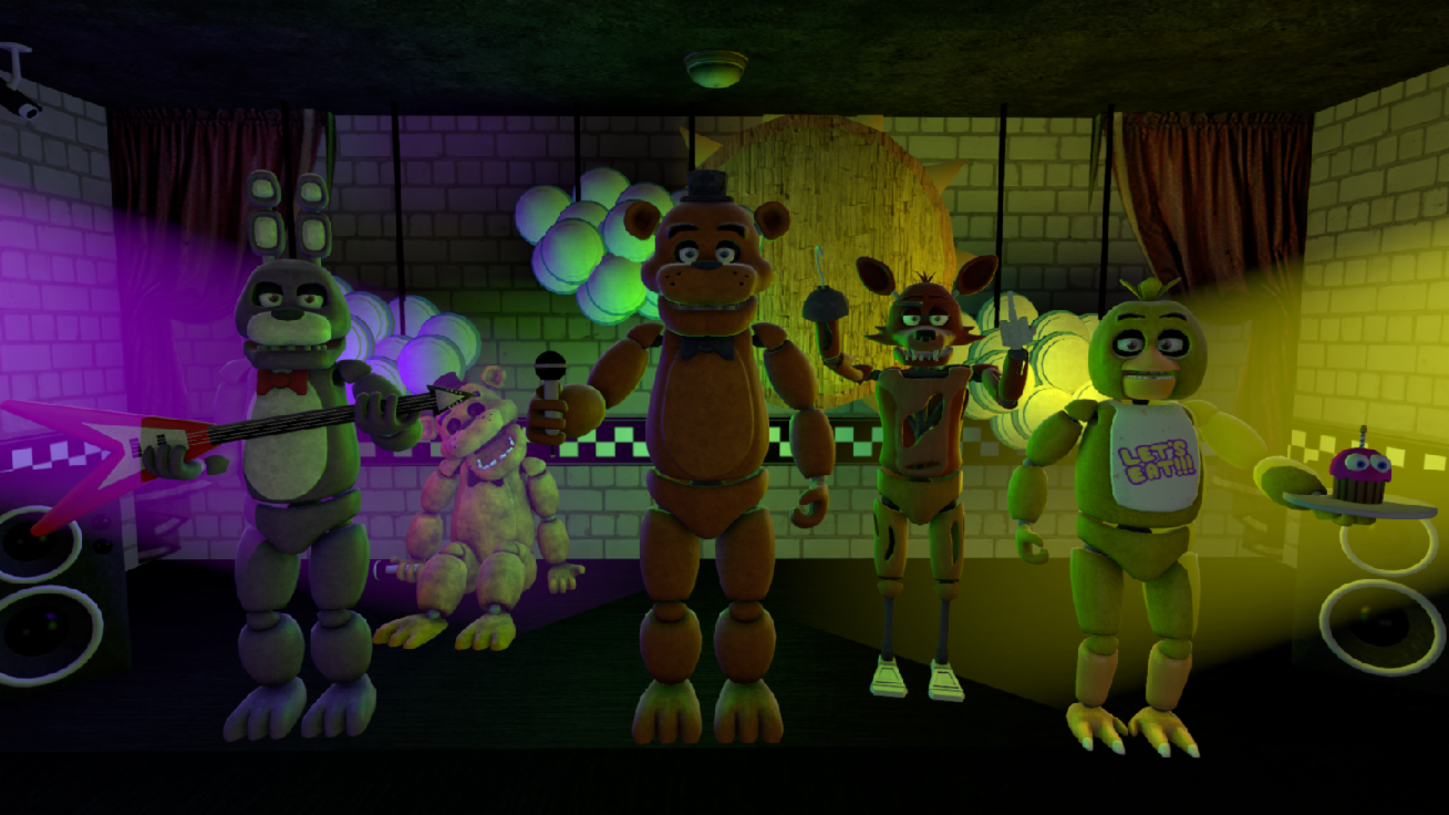 Which FNaF Character Are You? (4)