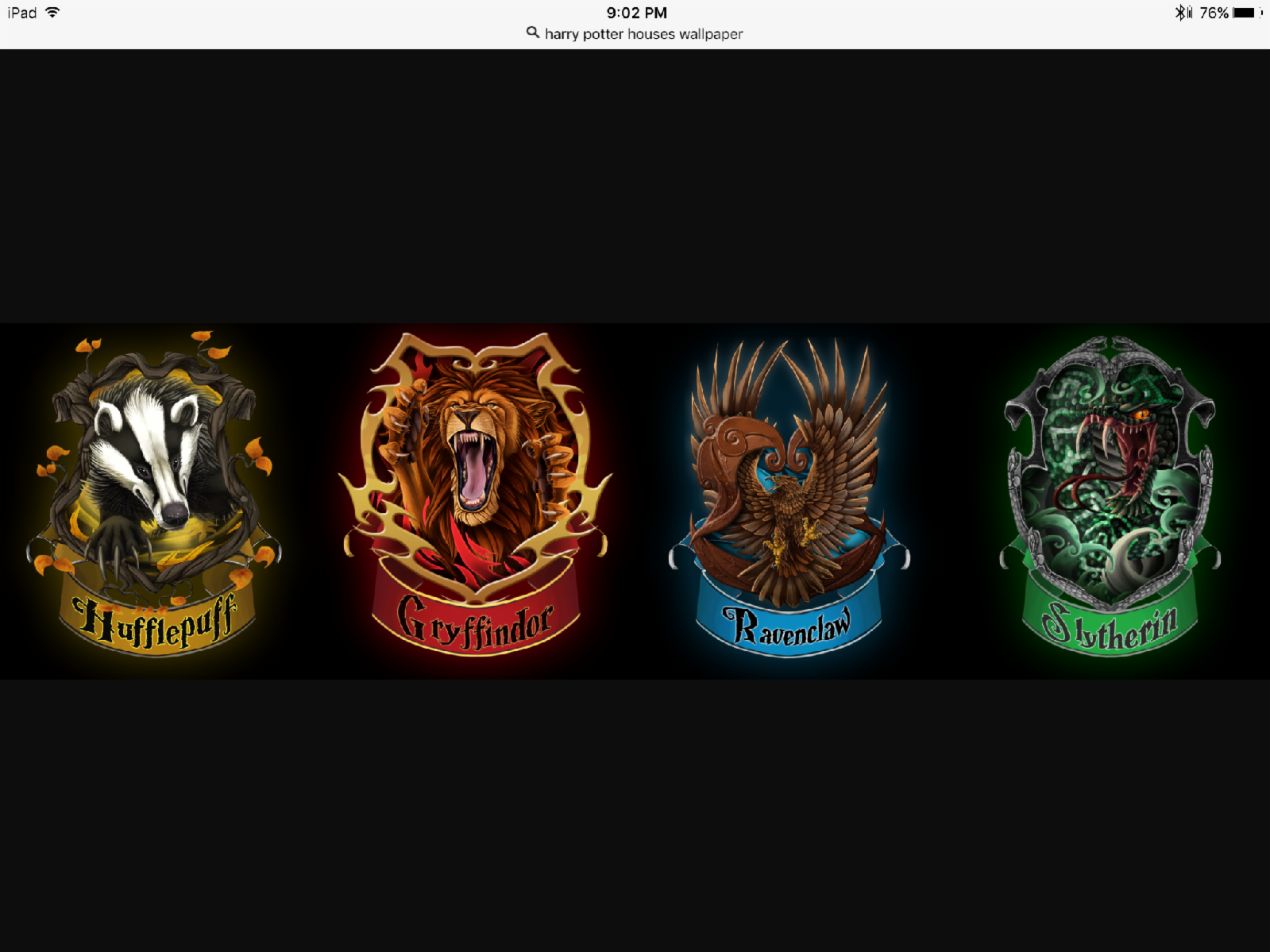 What Harry Potter house are you in? (5)
