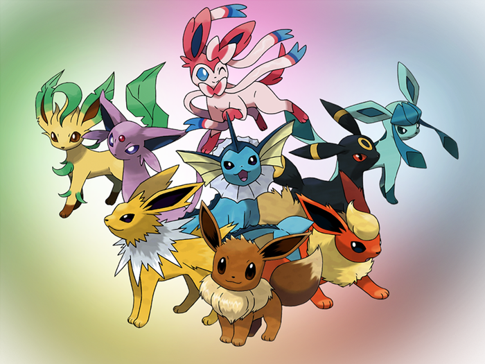 Which Eeveelution are you? (4)