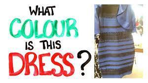 What Color Is the Dress - The Test