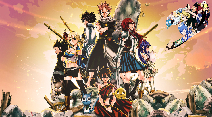 which fairy tail character are you? (1)