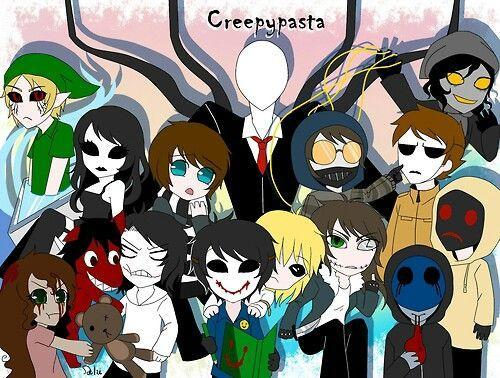 What CreepyPasta Character are you?