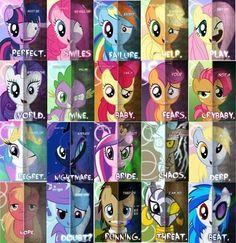 "Which ""Dark Element"" Pony are you?"