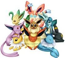 What eeveelution are you? (6)