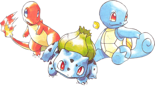 What Pokemon starter are you? (Kanto)