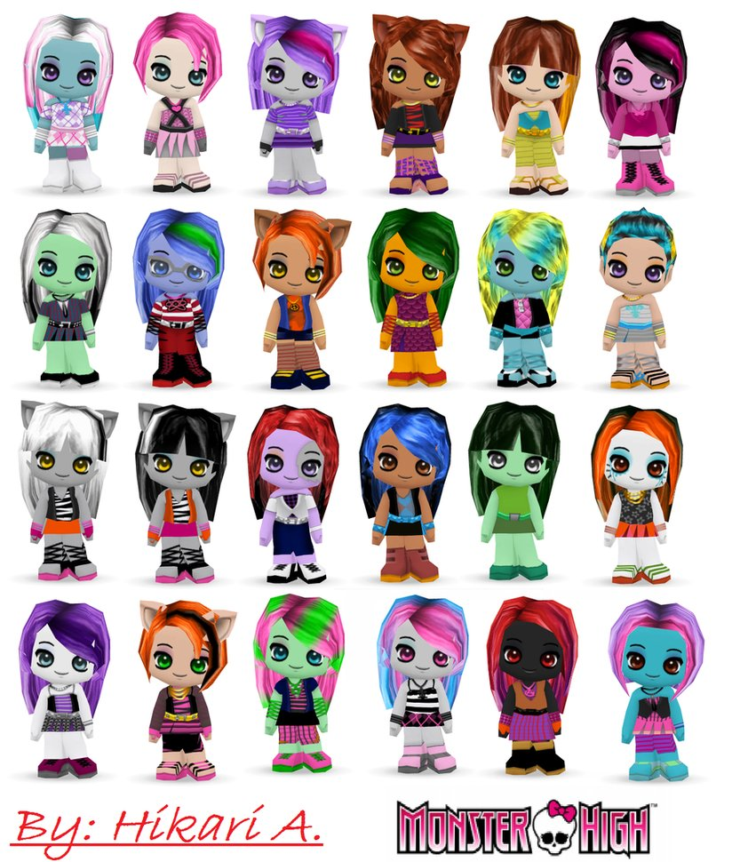 MONSTER HIGH character- which 1 r u?