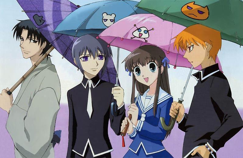 which fruits basket character is in love with you?