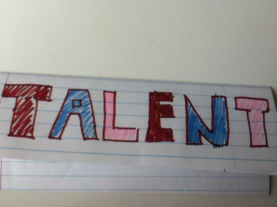 What's your real talent?