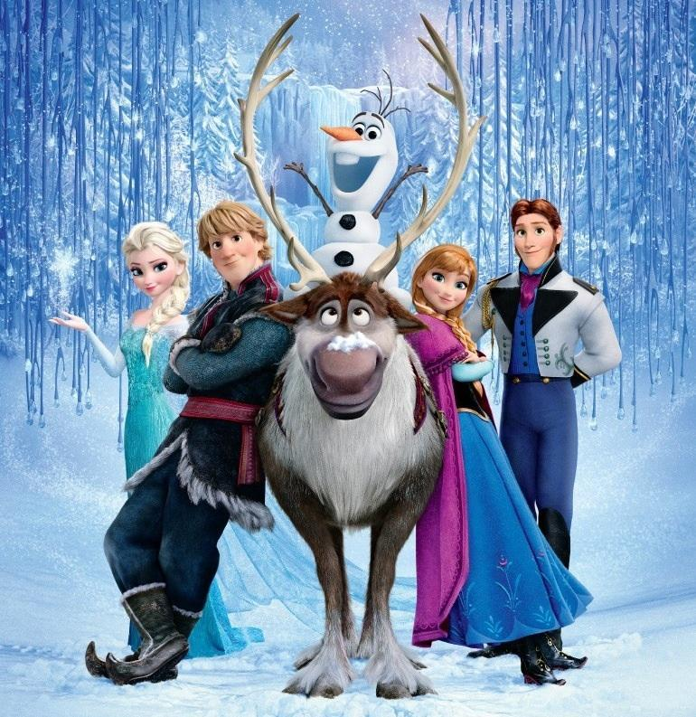 who are you from frozen? (1)