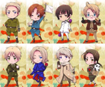 Do you know the Hetalia Human names?