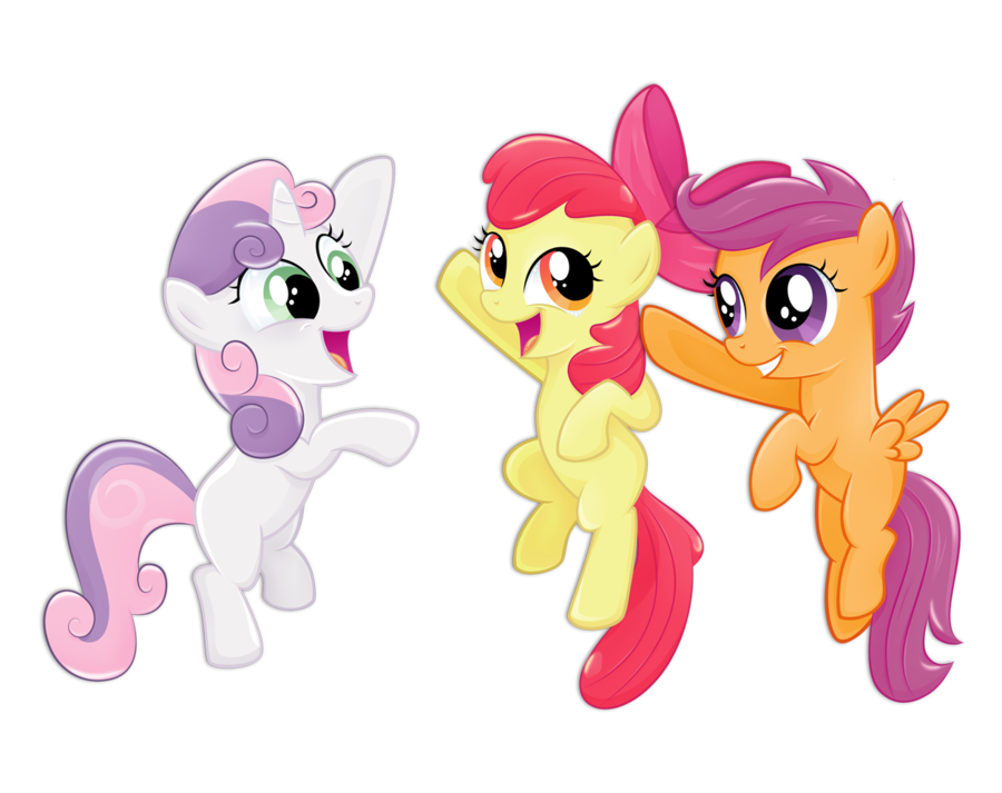 Who are you from the cutie mark crusaders?