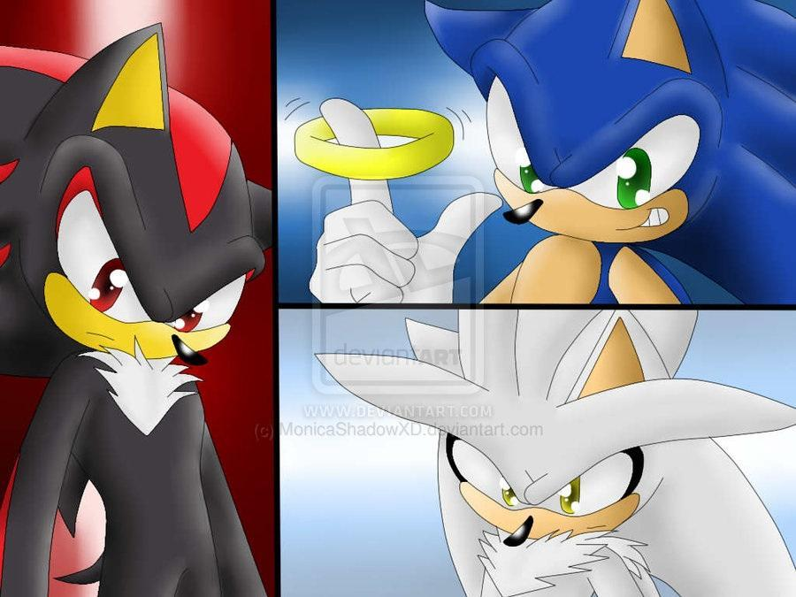 Who would fall for Sonic Shadow or Silver? (2)