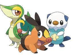 What Unova Starter are you