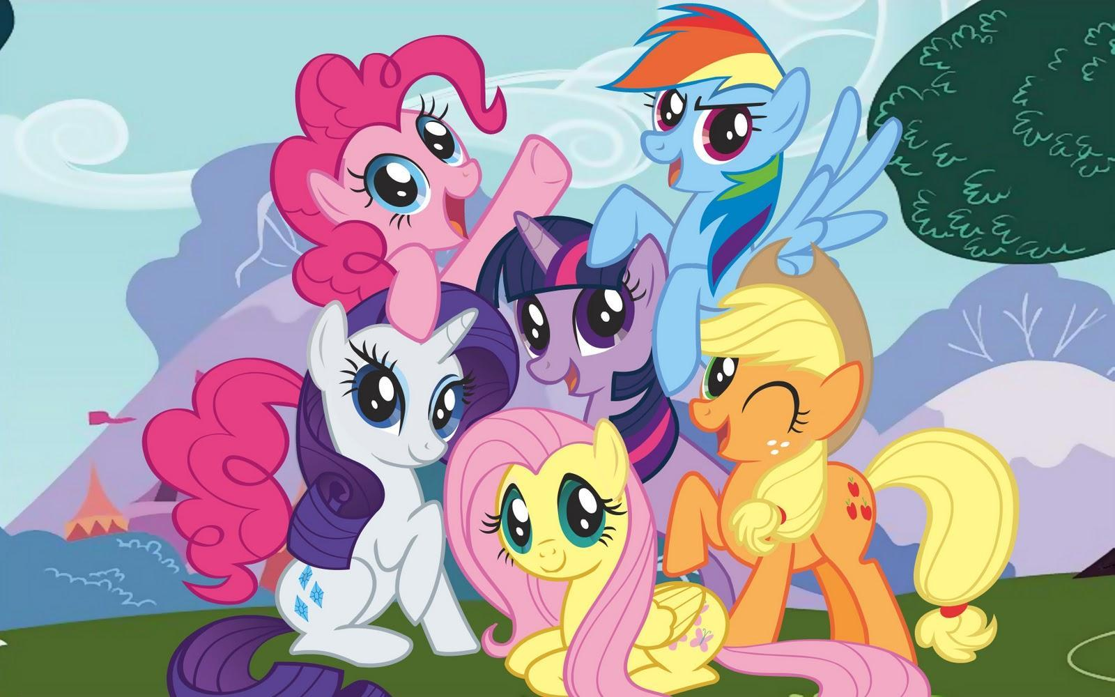 Which MLP FiM character are you? (mane 6)