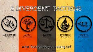 What faction would you be in (Divergent)