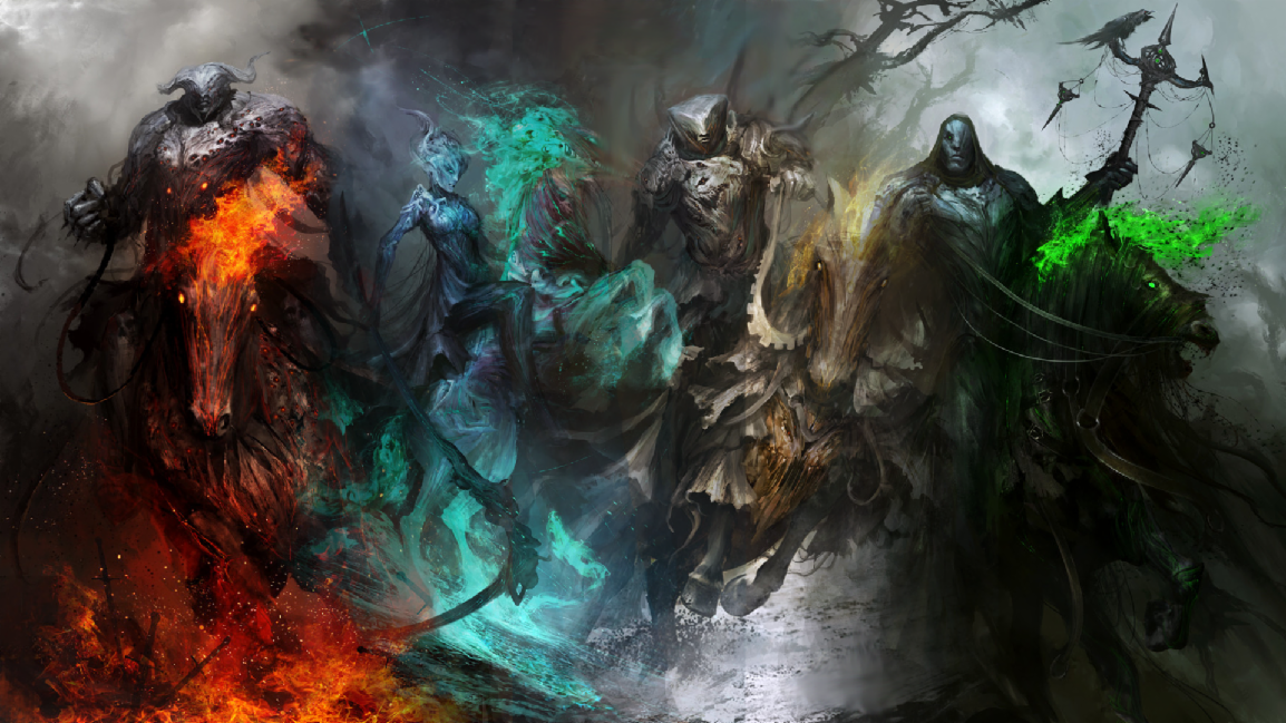 Which of the four horsemen are you?