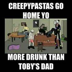 Which creepypasta likes you? (1)