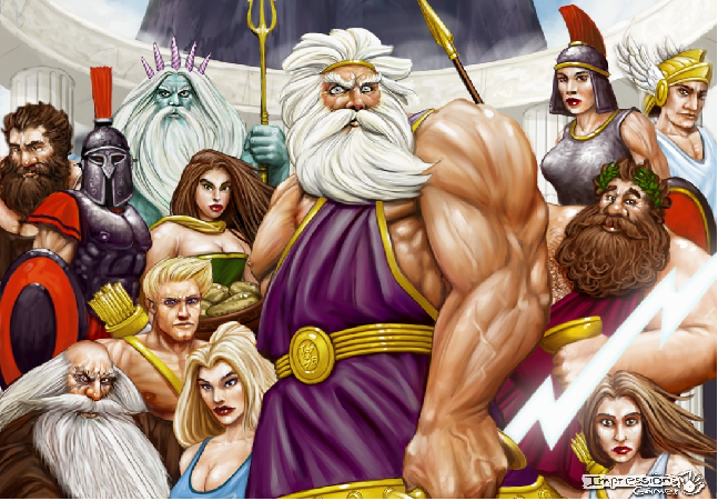 Which greek god are you? (3)