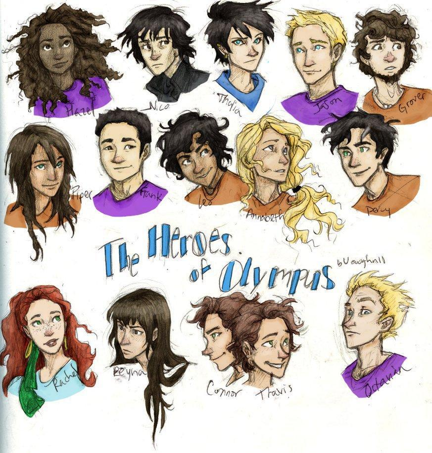 Which heroes of olympus character would you date ...