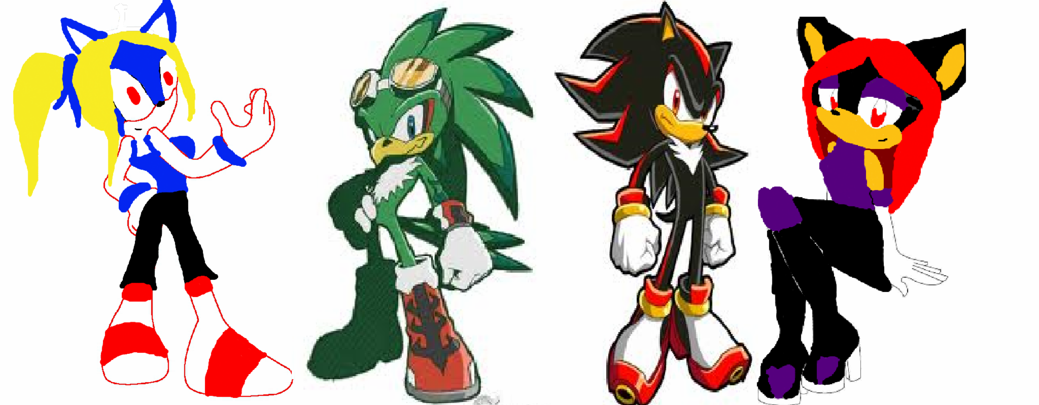 Which Sonic character would be your best friend part 14