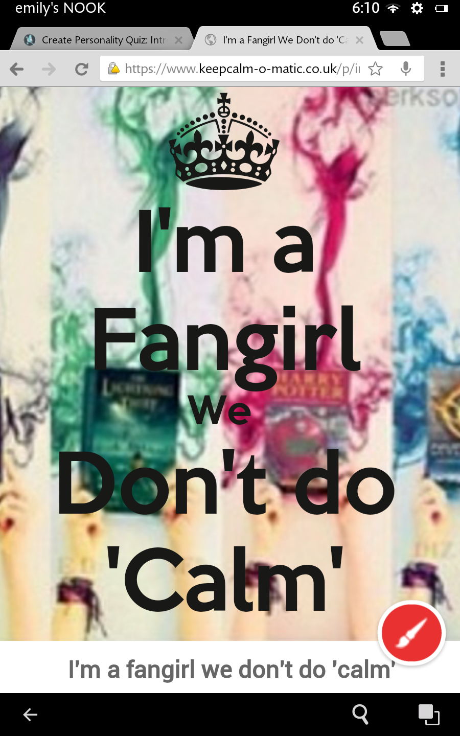Are You a Fangirl (1)