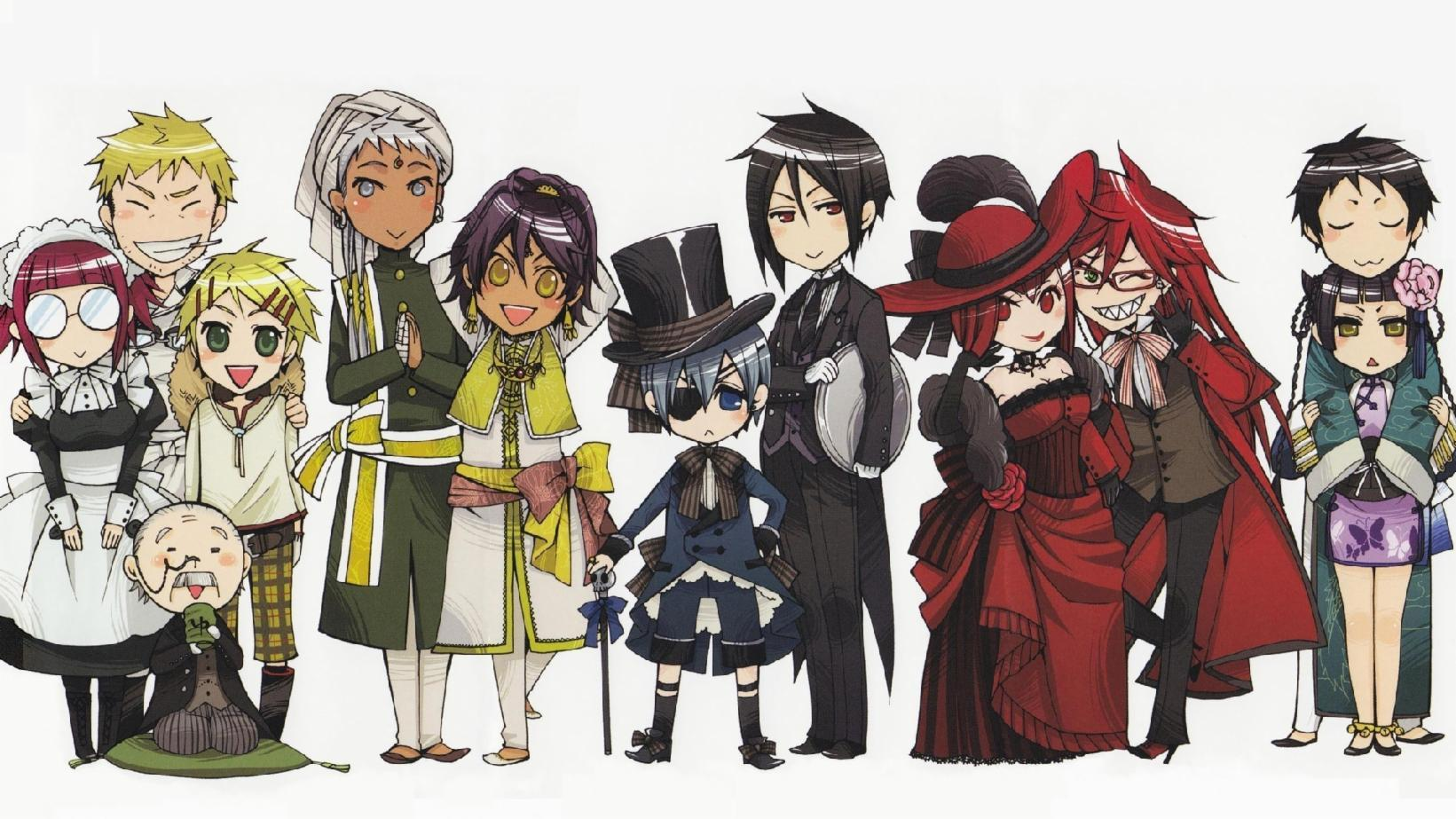 Which black butler character are you ?