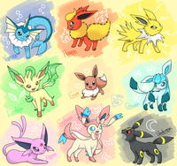 What Eeveelution are you? (5)