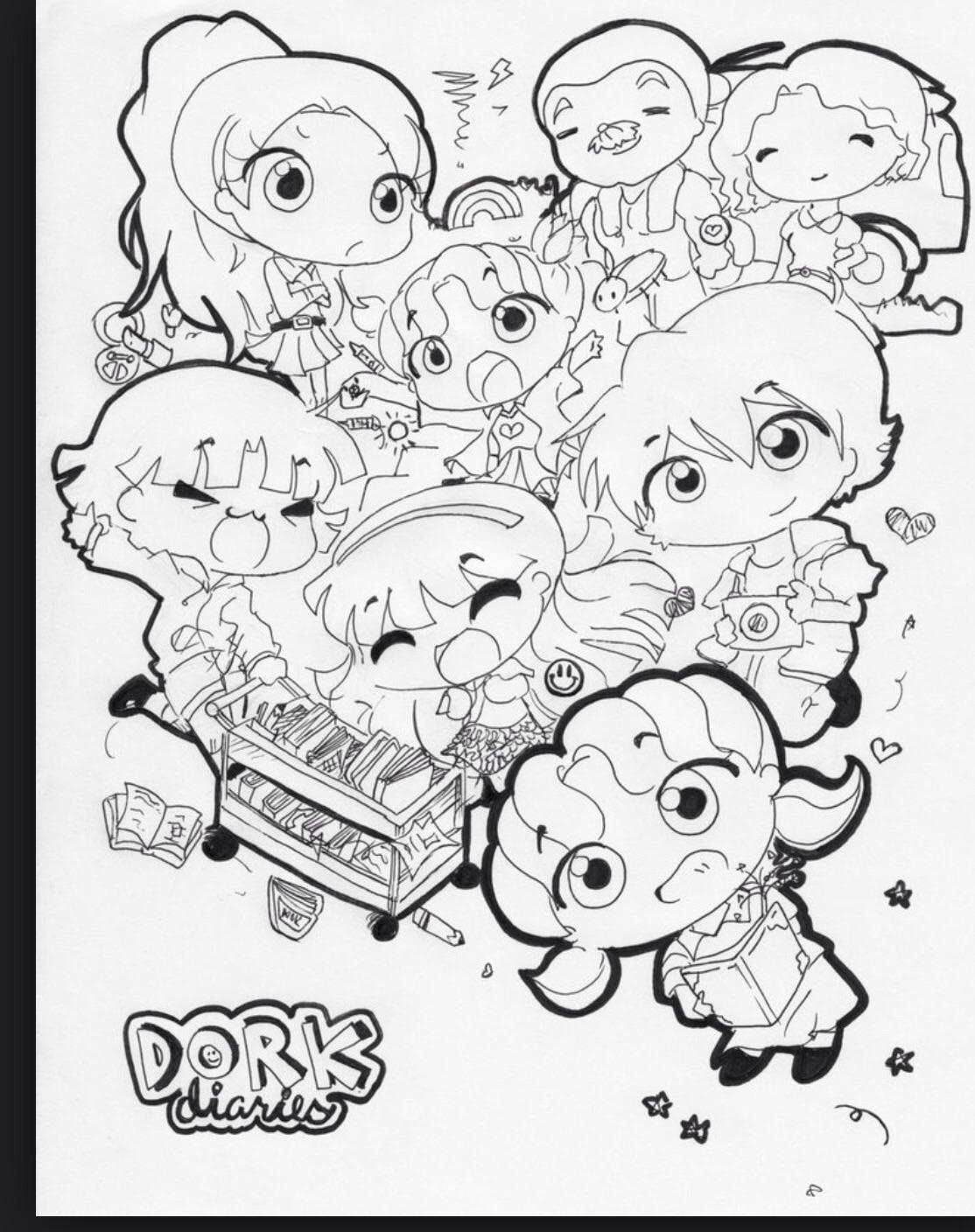 What dork diaries character are you? (1)