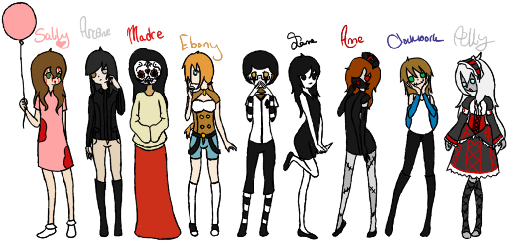 Who is your creepypasta girlfriend?