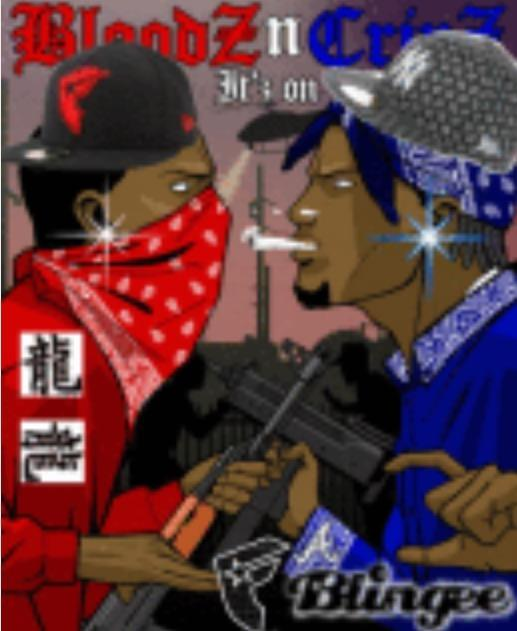 Are you better suited as a crip or blood?