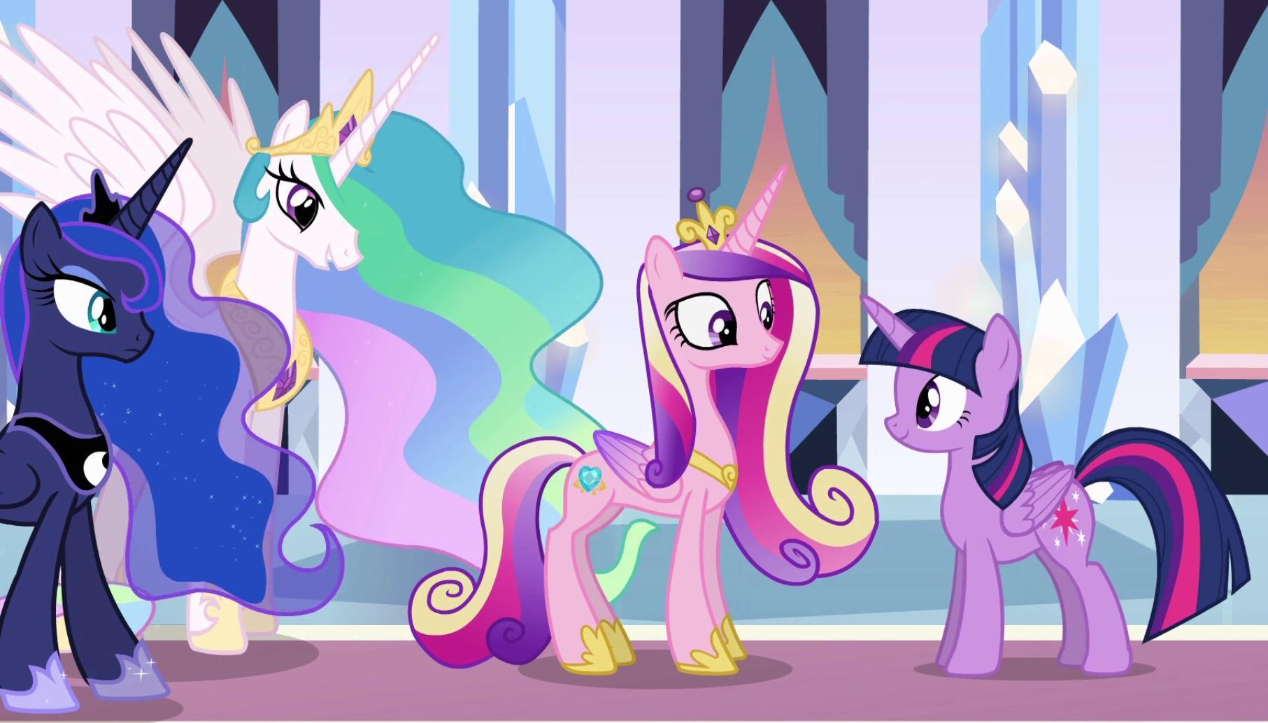 Whitch My Little Pony Princess are you?