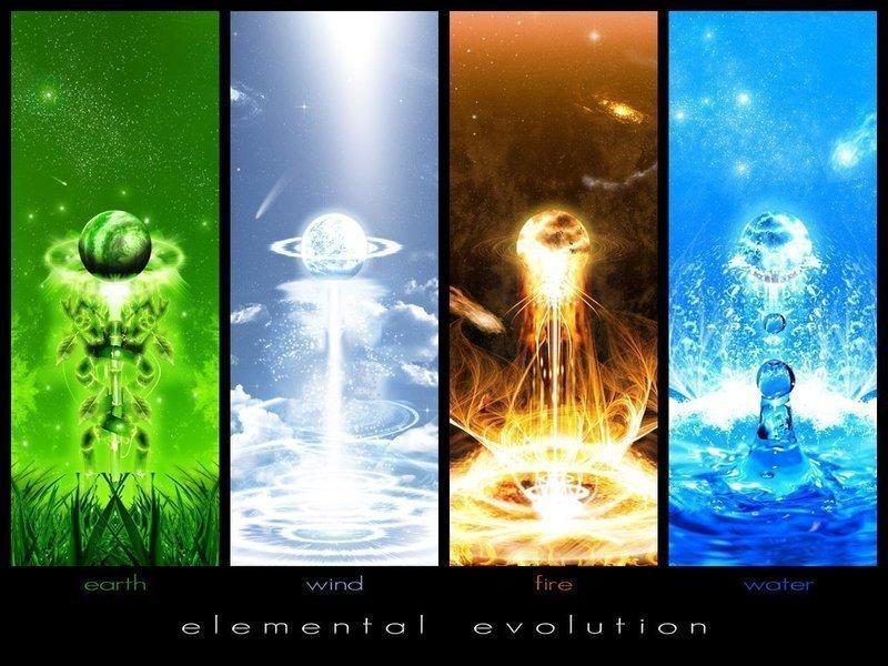 Earth, Air, Water, and Fire; What is your personal element?