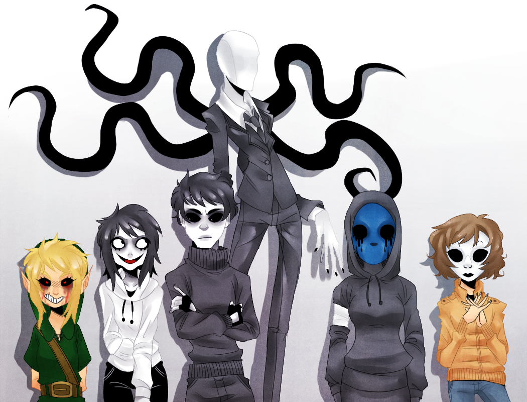 What creepypasta character are you most like?