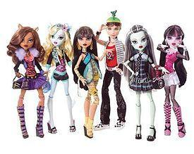 Which monster high character are you most like?