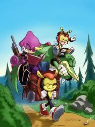 Team Chaotix wwffy