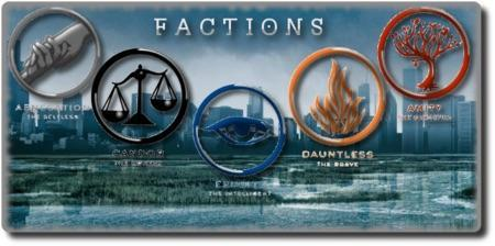 What faction are you from divergent