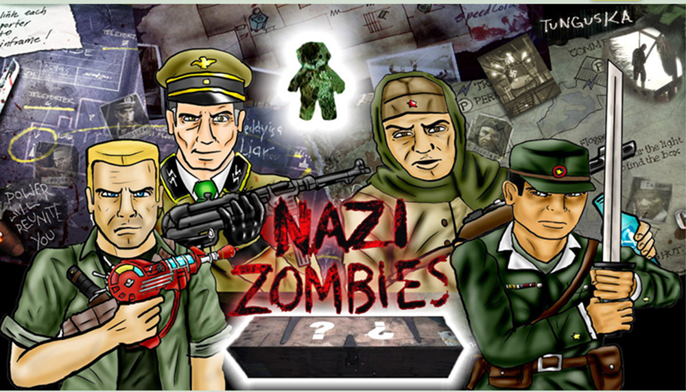 Call of Duty Nazi Zombies PART 1