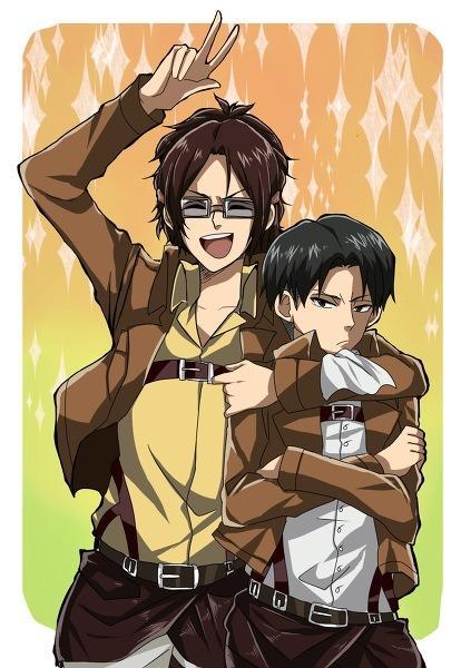 Are You Hanji or Levi ?