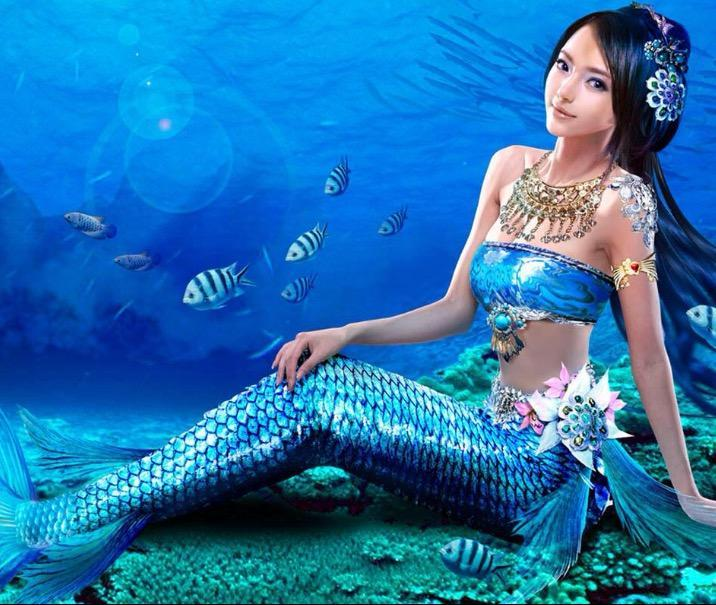 What color is your mermaid tail?