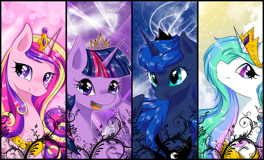 Which MLP princess/queen are you?