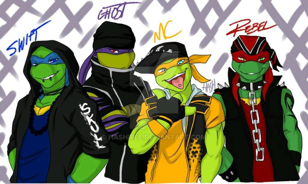 Which punk tmnt guy likes you?