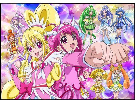What is your Pretty cure?(smile precure\glitter force or Doki Do