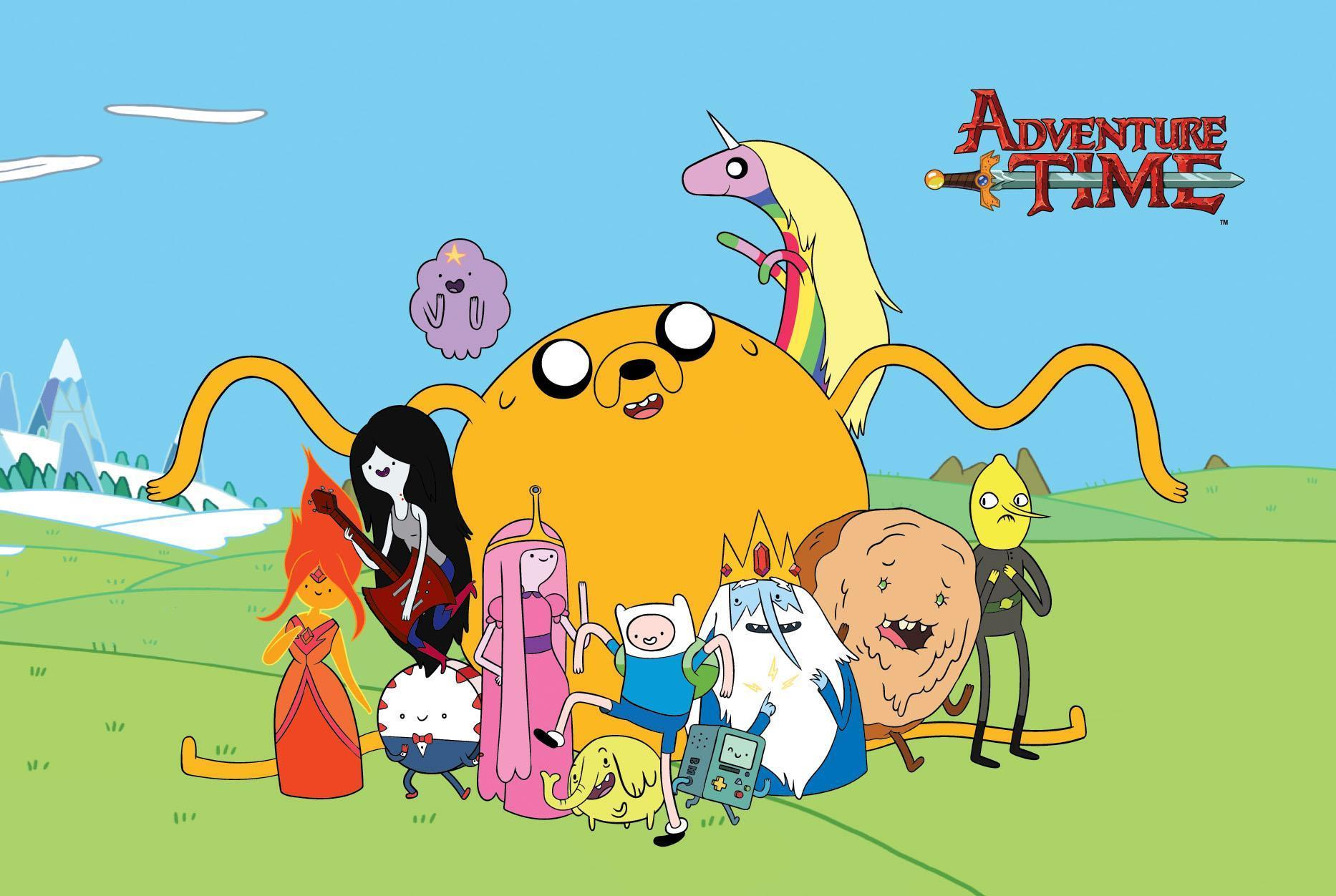 Which Adventure Time character are you? (2)