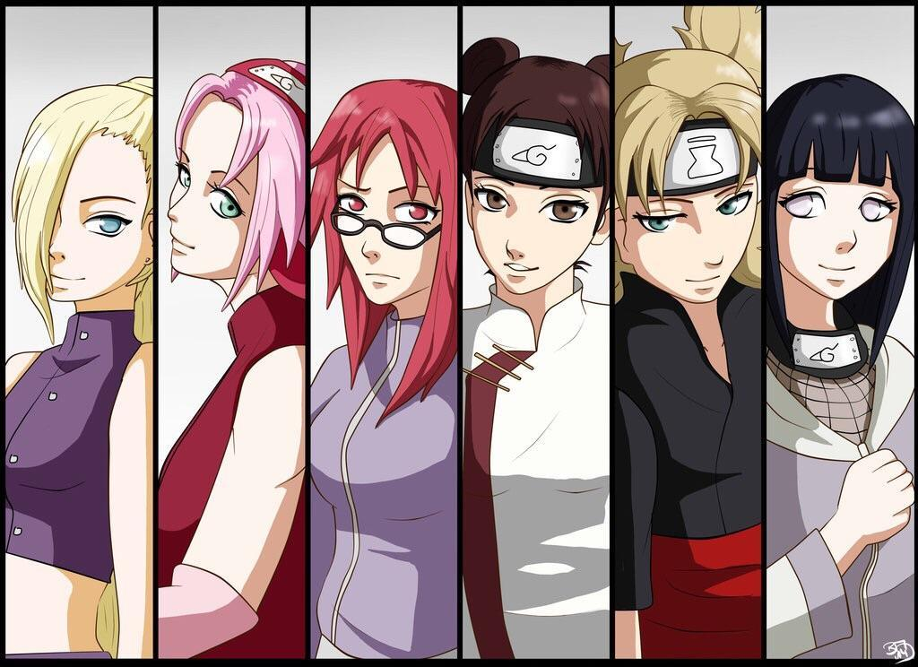 Which naruto girl loves you?