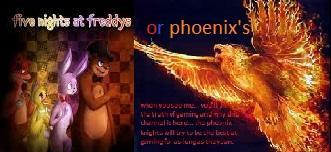Are you a FNAF charter or a phoenix?