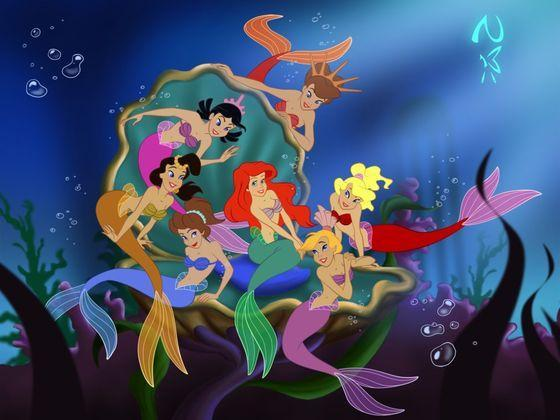Which of King Triton's daughters are you?